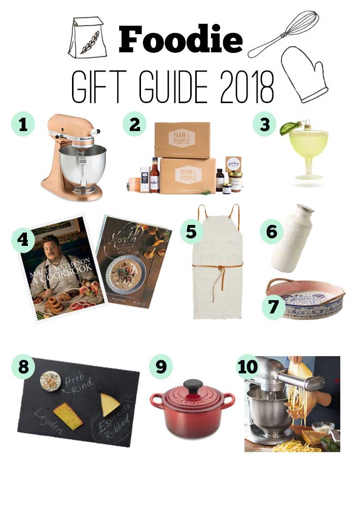Foodie Gift Guide 2018