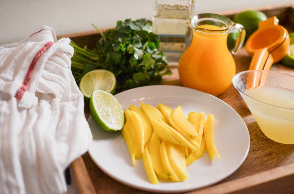 Mango Cilantro Margarita