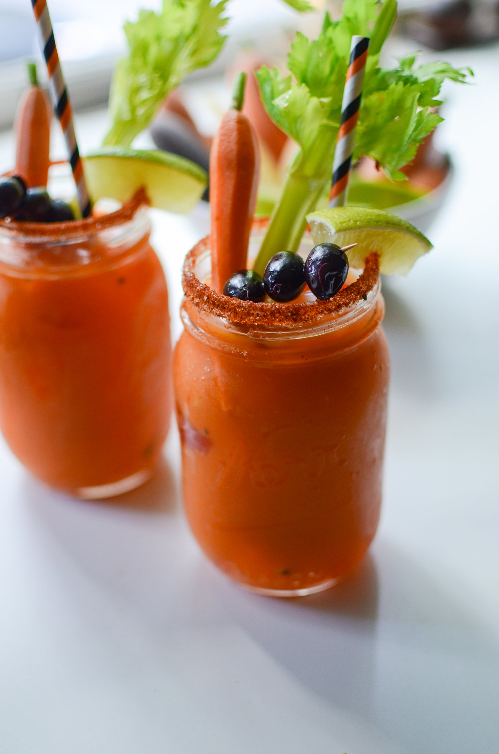 Carrot Bloody Mary's