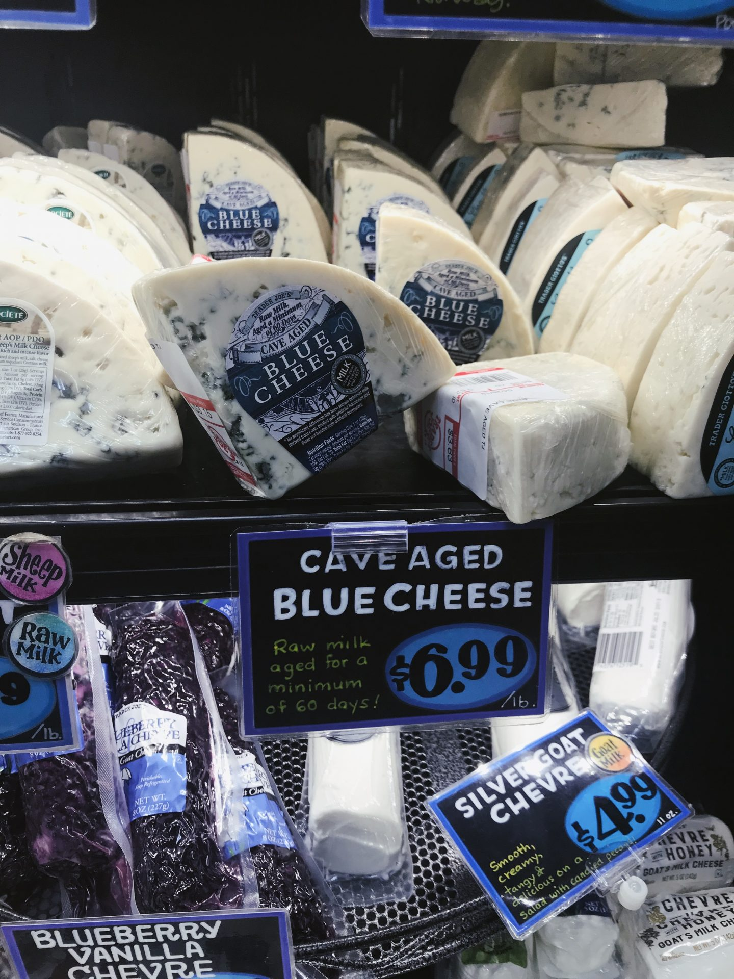 Cave Aged Blue Cheese at Trader Joe's