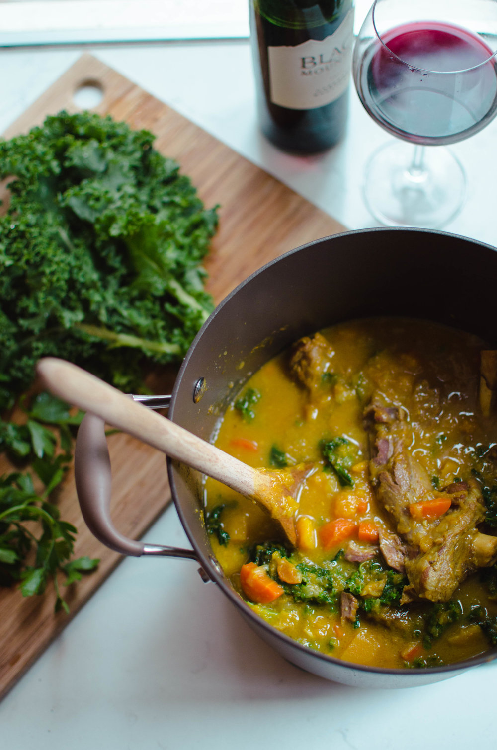 Lamb and Butternut Squash Curry