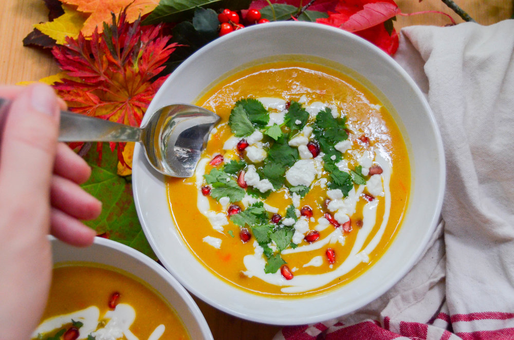Morrocan Butternut Squash Soup