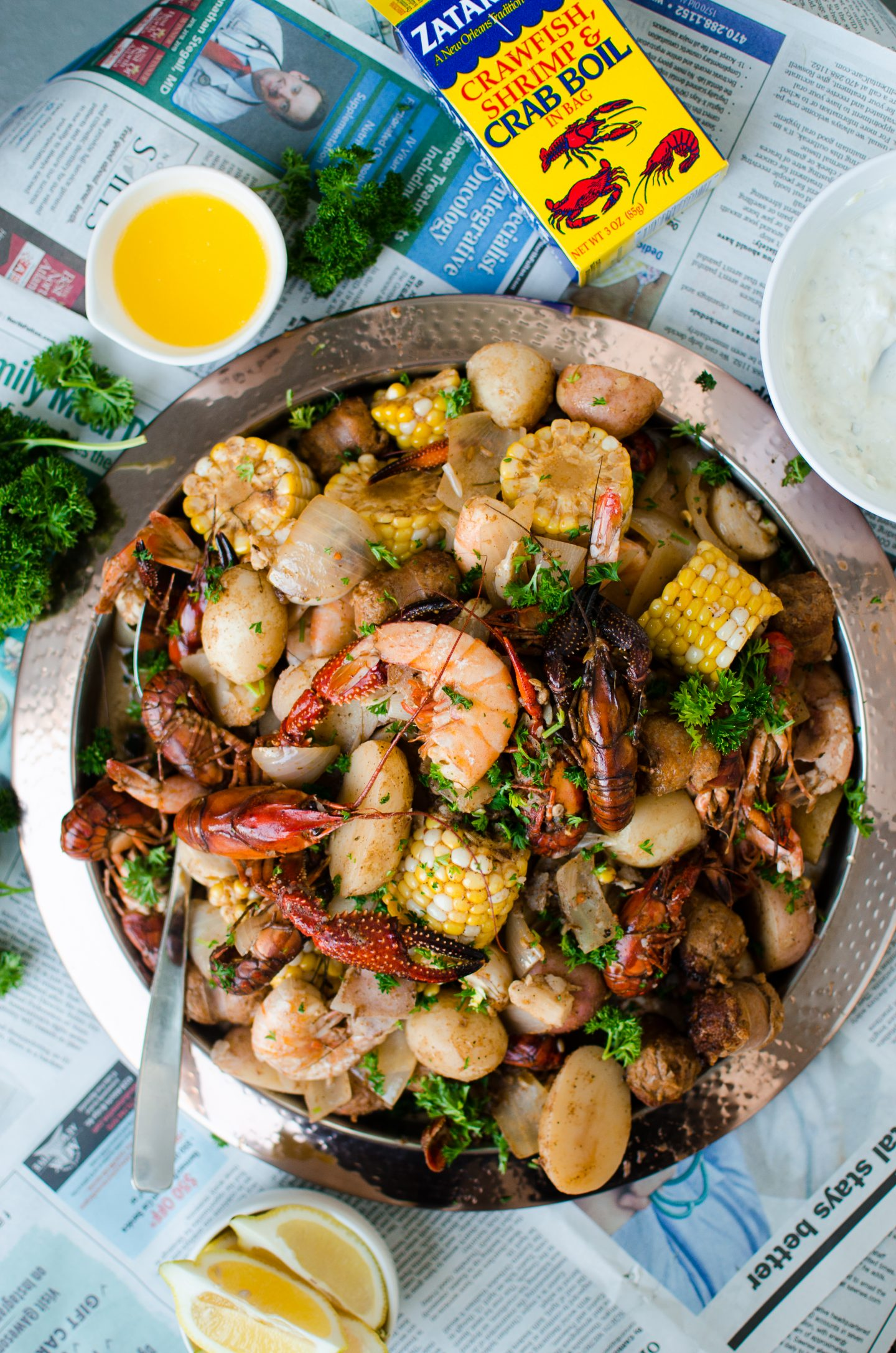 Easy Low-Country Boil for Two